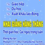 Chieu sinh tieng Nhat